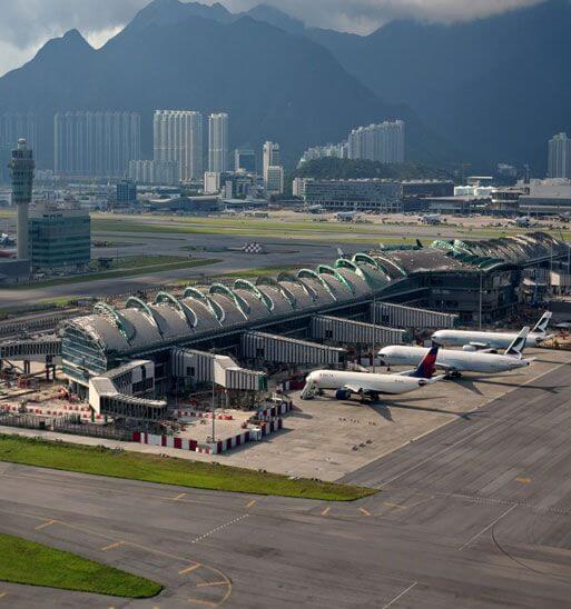 홍콩 공항 이동