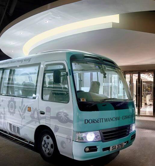 酒店免费穿梭巴士
