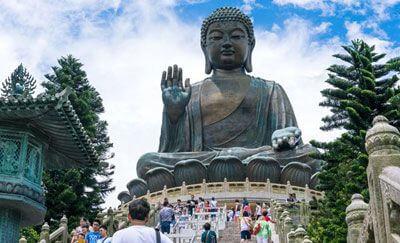 Big Buddha and Po Lin Monastery (부다상과 포린 수도원)