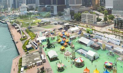 CENTRAL HARBOURFRONT EVENT SPACE