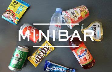 FREE USE OF MINIBAR