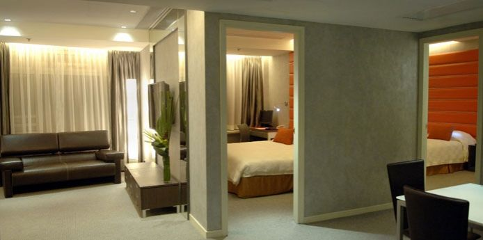 The Orange Two-bedroom Suite – the full view