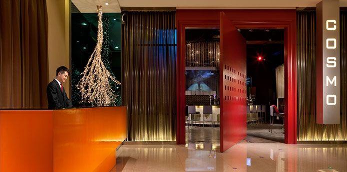 리셉션, 홍콩 코스모 호텔